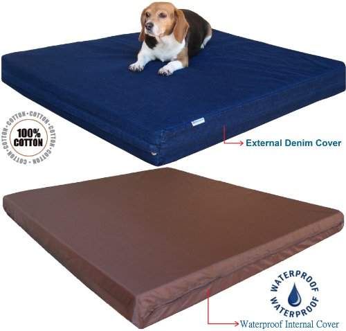 Premium Durable Orthopedic Memory Foam Dog Bed for Small Medium to Extra...