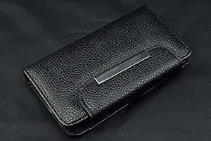 coverstop® Flip Carcasa Flipcover portatarjetas Negro Cartera sintética Full funda para Huawei Ascend Y5Y560