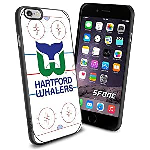 Hartford Whalers Rink Ice #2149 Hockey iPhone 6 (4.7) Case Protection Scratch Proof Soft Case Cover Protector by runtopwell