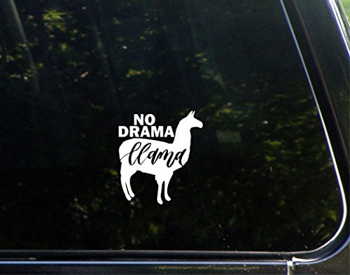 Sweet Tea Decals No Drama Llama - 3 1/2