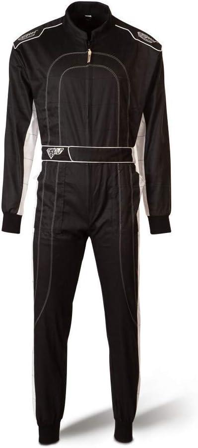 Speed Racewear Combinaison de kart noir Nouveau mod/èle 2018 L