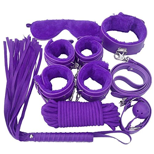 Sx-toy4u 8 pcs Adult Costume Women Clothes Kit PU Leather Luxury Handcuffs Sexy Women Toy Couples