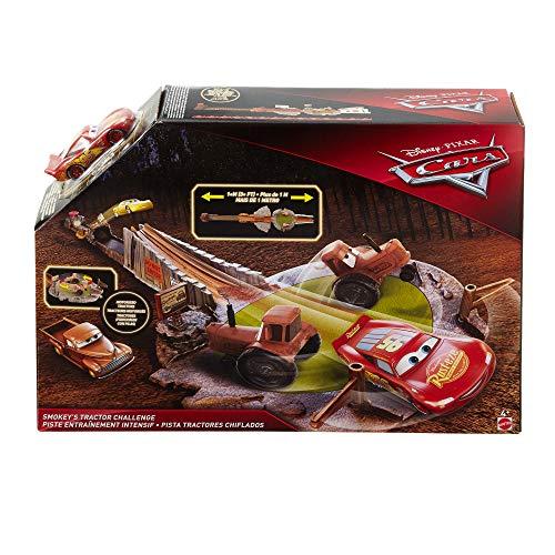 Racetrack Lightning Mcqueen (Disney/Pixar Cars Smokey's Tractor Challenge Playset)