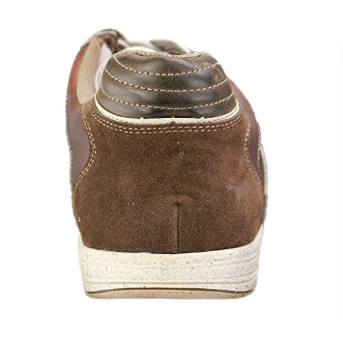 Mustang , Chaussures de ville à lacets pour homme Marron Brun
