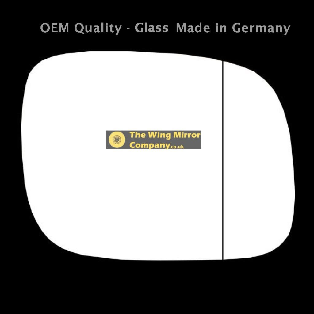 The Wing Mirror Company GL795-VT Door/Wing Mirror Glass RH (Driver Side) OEM-WMC