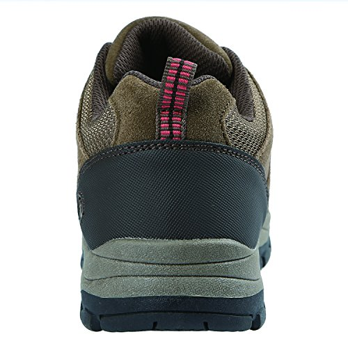 Pictures of Northside Women's Monroe Low Hiking Shoe Dk Gray/Dk Turquoise 4