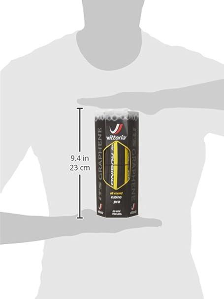 Vittoria Rubino Pro G+ Isotech Graphene - Cubierta para Bicicletas, se Puede Doblar (245 gr): Amazon.es: Deportes y aire libre