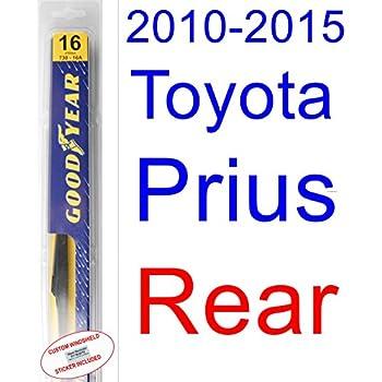 2010-2015 Toyota Prius Wiper Blade (Rear) (Goodyear Wiper Blades-Assurance) (2011,2012,2013,2014)