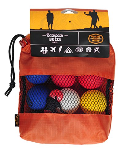 Outside Inside Backpack Bocce Balls (5.5 X 5.5-Inch) by Outside Inside
