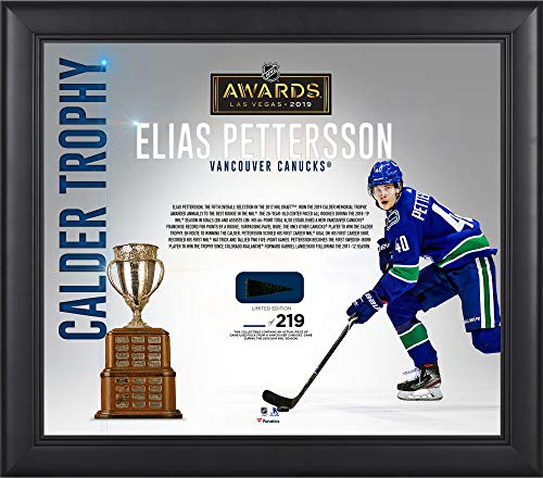 Elias Pettersson Vancouver Canucks Framed 15