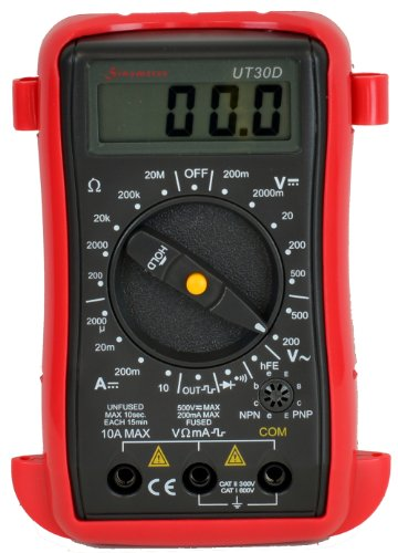 Uni-T UT30D Pocket-size Digital Multimeter with Square Wave Generator (50Hz),Sinometer OEM