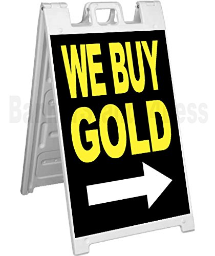 Signicade A-Frame Sign Sidewalk Pavement Sign - WE BUY GOLD
