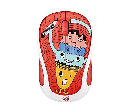 Logitech 910-005026 M325c Wireless Mouse Triple Scoop Ice Cream Cone