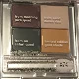 2014 Clinique All About Shadow Quad Eyeshadow Java Sand Dunes Safari Gold Shade