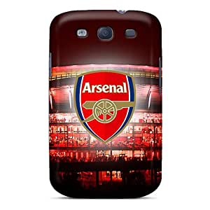 CristinaKlengenberg Samsung Galaxy S3 Scratch Resistant Hard Cell-phone Cases Allow Personal Design Vivid The Team England Arsenal Series [aiX11169NeFl]