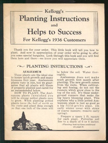 Planting Instructions - 3