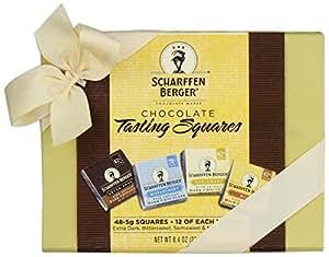 SCHARFFEN BERGER Chocolate Tasting Squares Box, (48-Piece Box)