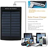 Solar Charger Polycrystalline Solar Power Bank 50000mAh 1.5W Dual USB Solar Battery Charger