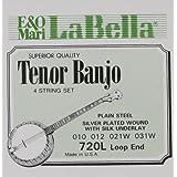 LaBella 720L-LE Tenor Banjo Silk & Steel Banjo Strings, Light