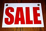 1Pc Heart-stirring Unique Sale Coroplast Sign Shop Decal Message Declare Pricing Poster Clearance Price Signs...