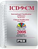 ICD-9-CM 2008 Office Edition, Spiral Vols. 1 And 2, , 1570664528