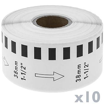 BeMatik - Rollo Bobina de Etiquetas Adhesivas compatibles con ...