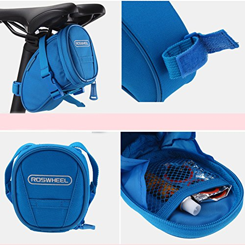 Roswheel Outdoor Cycling Bike Bicycle Saddle Bag Under Seat Packs Tail Pouch