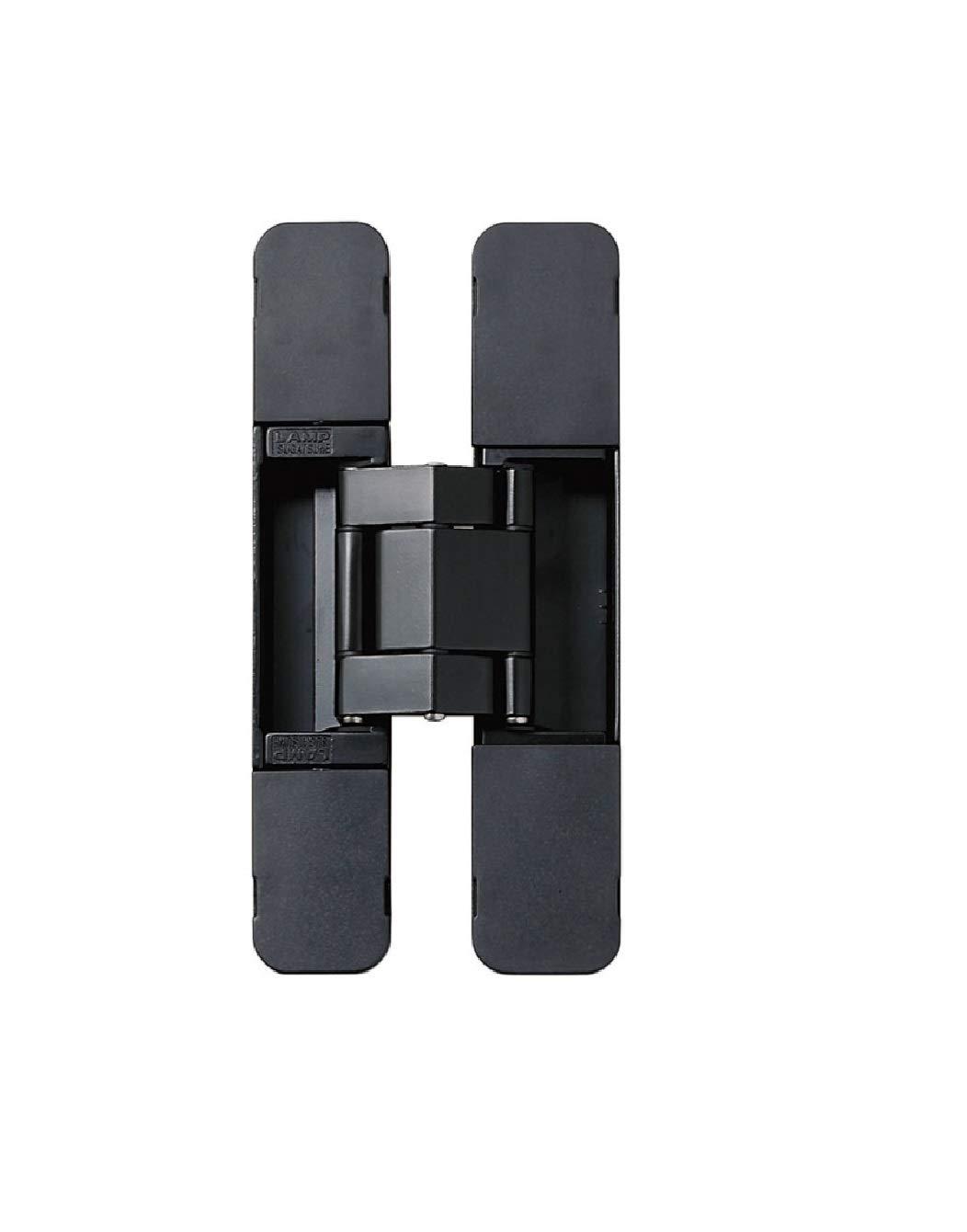 Sugatsune HES3D-E190 3-Way Adjustable Invisible Concelaed Hinge - Matte Black