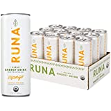 RUNA Organic Clean Energy Drink from the Guayusa Leaf, Mango, 12 Ounce (Pack of 12)