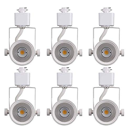 Cloudy Bay 8W 4000K Cool White Dimmable LED Track Light