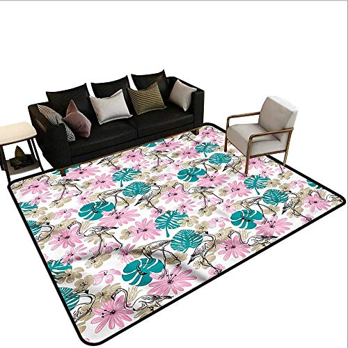 - Birds,Dining Table Rugs 64