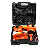Baner Tech TZ01 2 in 1 Portable Floor Jack and Tire Inflatable Pump Set Car Repair Tool Kit,for Cars,Sedans
