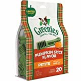 Cheap Greenies Pumpkin Spice Dog Dental Chew (Petite)