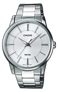 CASIO Collection MTP-1303PD-7AVEF - Reloj de caballero de cuarzo, correa de acero inoxidable