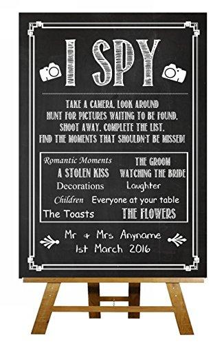Pizarra estilo I Spy cámara desechable tomar fotos Vintage ...