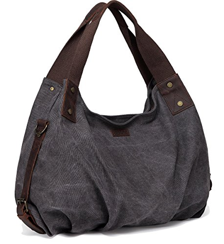 Gray Hobo Handbag - 3