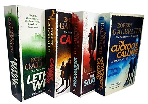 Book cover from Cormoran strike series robert galbraith 4 books collection set by Robert Galbraith