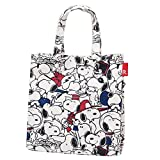 Snoopy lunch bag Square laminate PEANUTS-3H Face peanuts