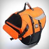 Kyjen Outward Hound Designer Pet Saver Life Jacket, Large, Orange