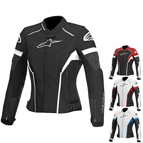 Alpinestars GP Plus R Perforated Women's Street Motorcycle Jackets - White/Black/Red / 46