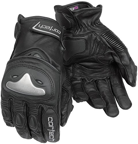 Cortech Vice 2.0 Mens Black Leather Glove - X-Small (Gloves Vice Motorcycle Leather)