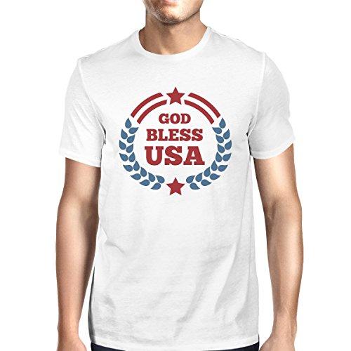 de manga Size Usa Bless Camiseta para 365 hombre corta One Printing God  OFqwTaE4 df4e87ffe75