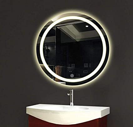 BOC Miroir, Interrupteur Tactile, Salle De Bains, Lumière ...