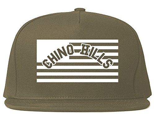 City Of Chino Hills with United States Flag Snapback Hat Cap - Chino City Hills Of