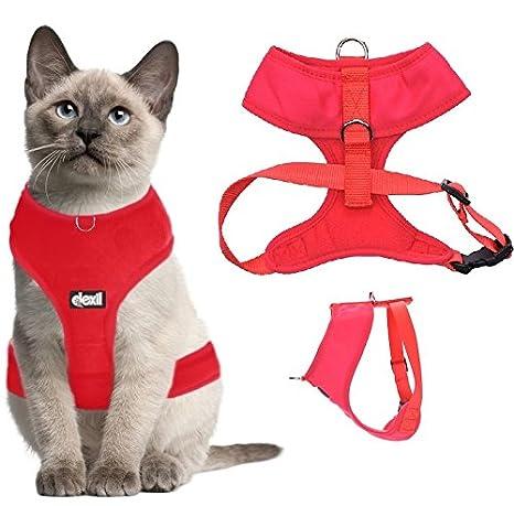 Arnés de lujo para gato acolchado y resistente al agua Dexil ...