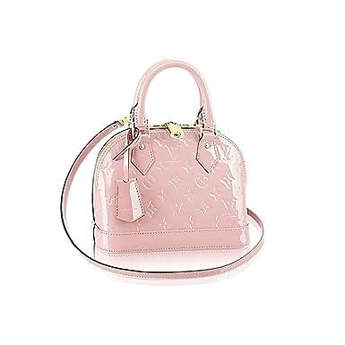 98e91e365f4f Louis Vuitton Monogram Vernis Leather ALMA BB Cross-Body Carry Handbag  Article: M50415 RoseBalleria: Amazon.co.uk: Clothing
