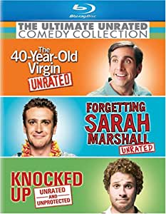 The Ultimate Unrated Comedy Collection (The 40-Year Old Virgin / Forgetting Sarah Marshall / Knocked Up) [Blu-ray] (Bilingual)