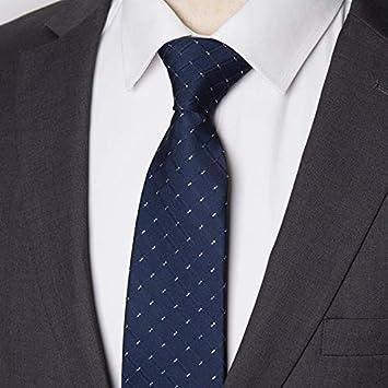 LFLJIE Hombres Tie Business 8CM Rayas Corbata Hombre Fiesta de ...