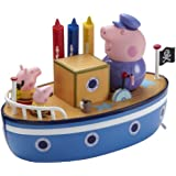 Peppa Pig Grandpa Pig's MUDDY PUDDLE Bathtime Boat (Dispatched from UK)