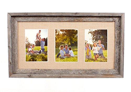burlap picture frame - 3